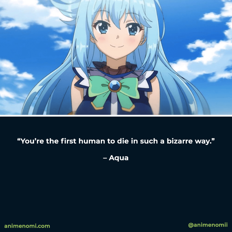 Hand-Picked Konosuba Quotes Everyone Will Love - Quote One