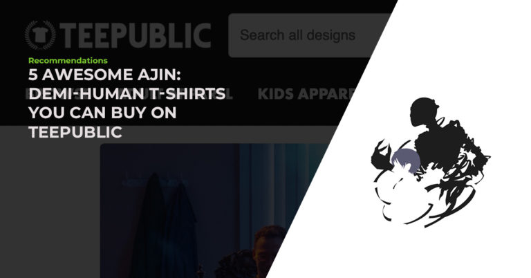 5 Awesome Hand-Picked Ajin: Demi-Human T-Shirts You Can Buy On TeePublic
