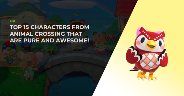Top 15 Characters From Animal Crossing That Are Pure And Awesome!