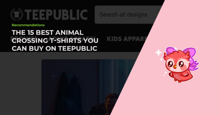The 15 Best Hand-Picked Animal Crossing T-Shirts You Can Buy On TeePublic