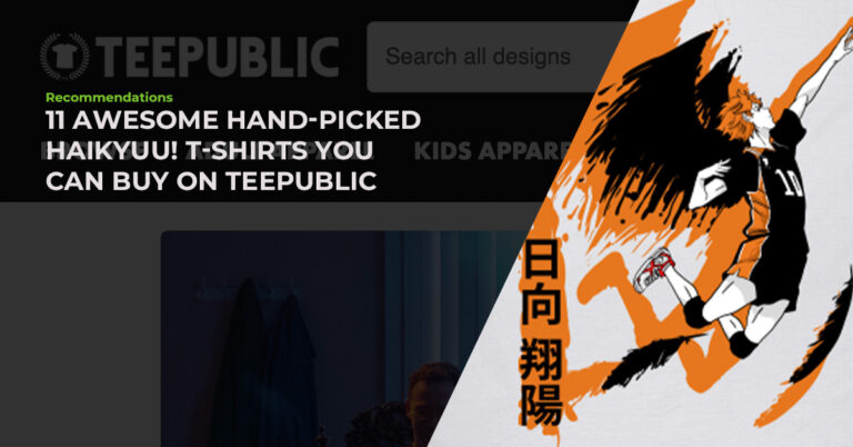 11 Awesome Hand-Picked Haikyuu! T-Shirts You Can Buy On TeePublic