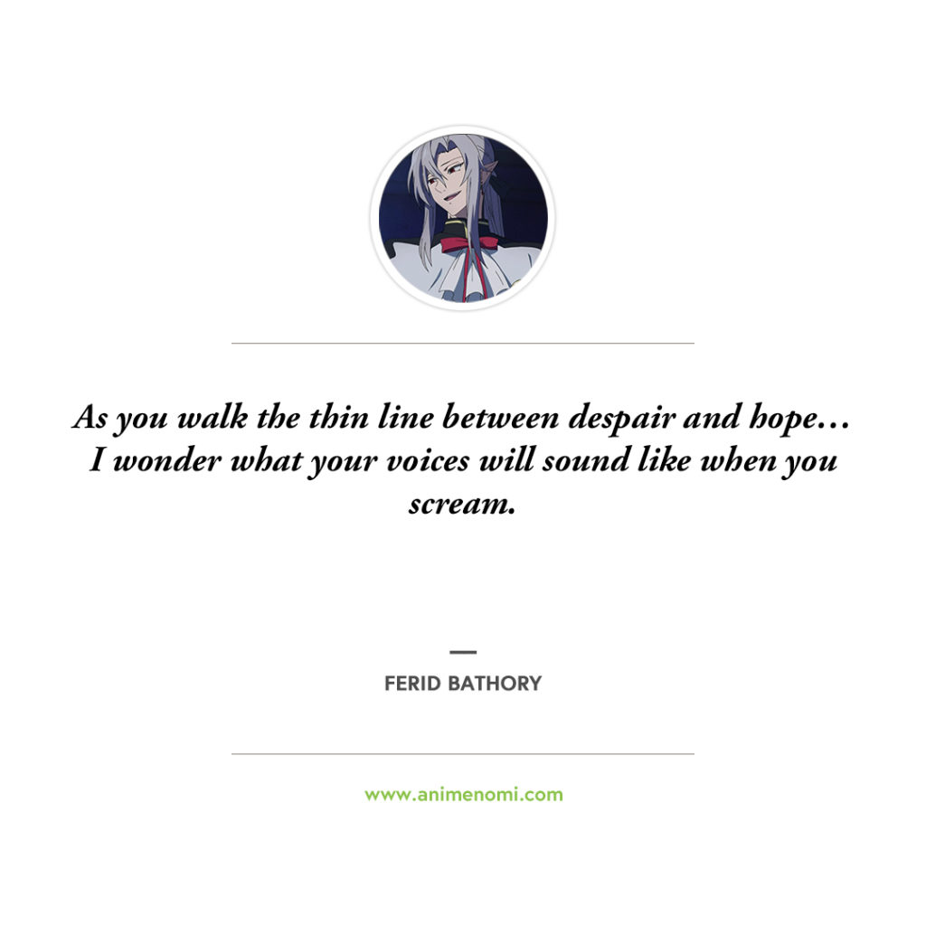 anime nomi seraph of the end quotes 10
