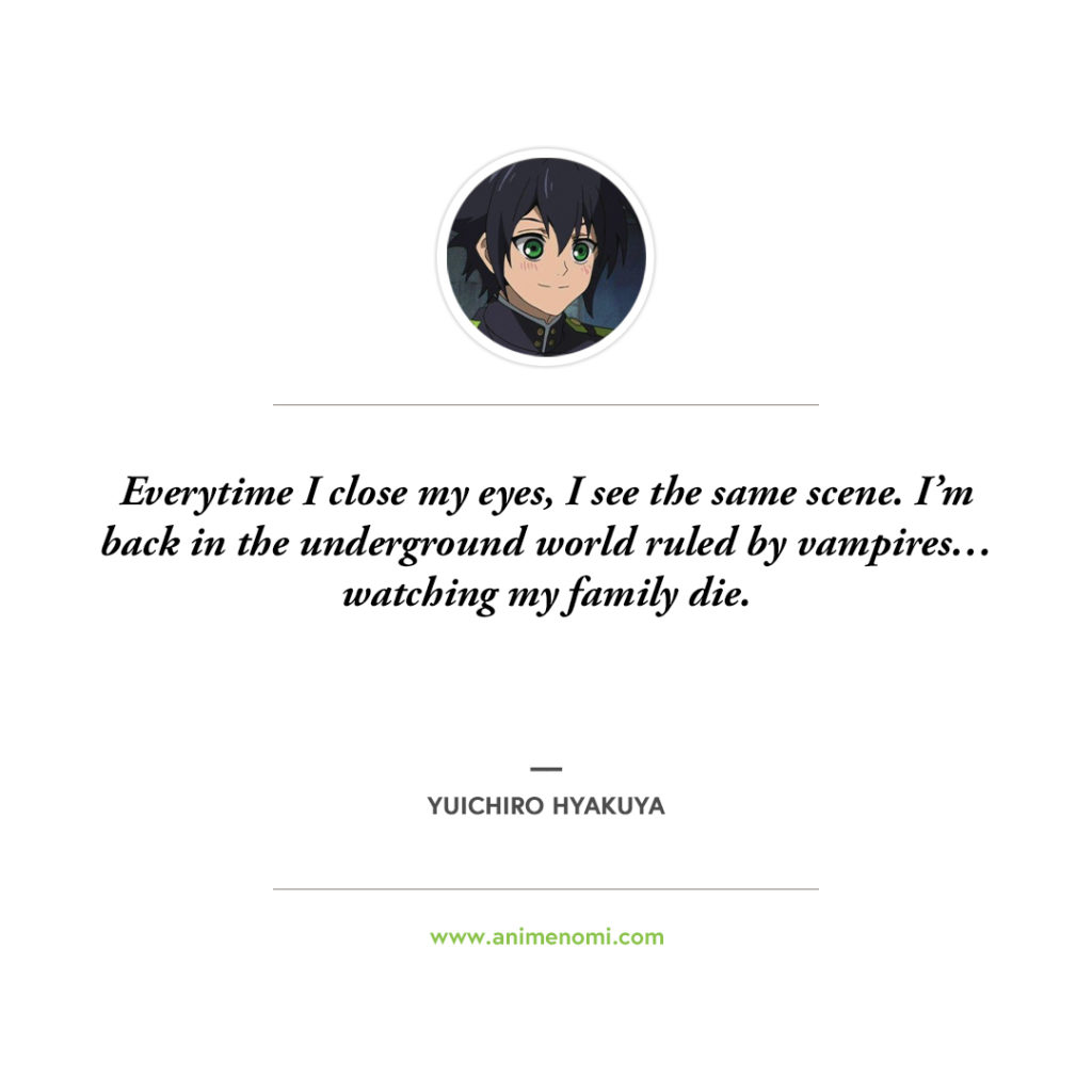 anime nomi seraph of the end quotes 12